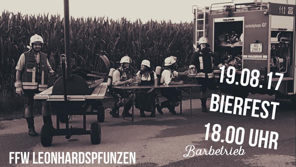 Bierfest Feuerwehr Leonhardspfunzen @ FF Leonhardspfunzen