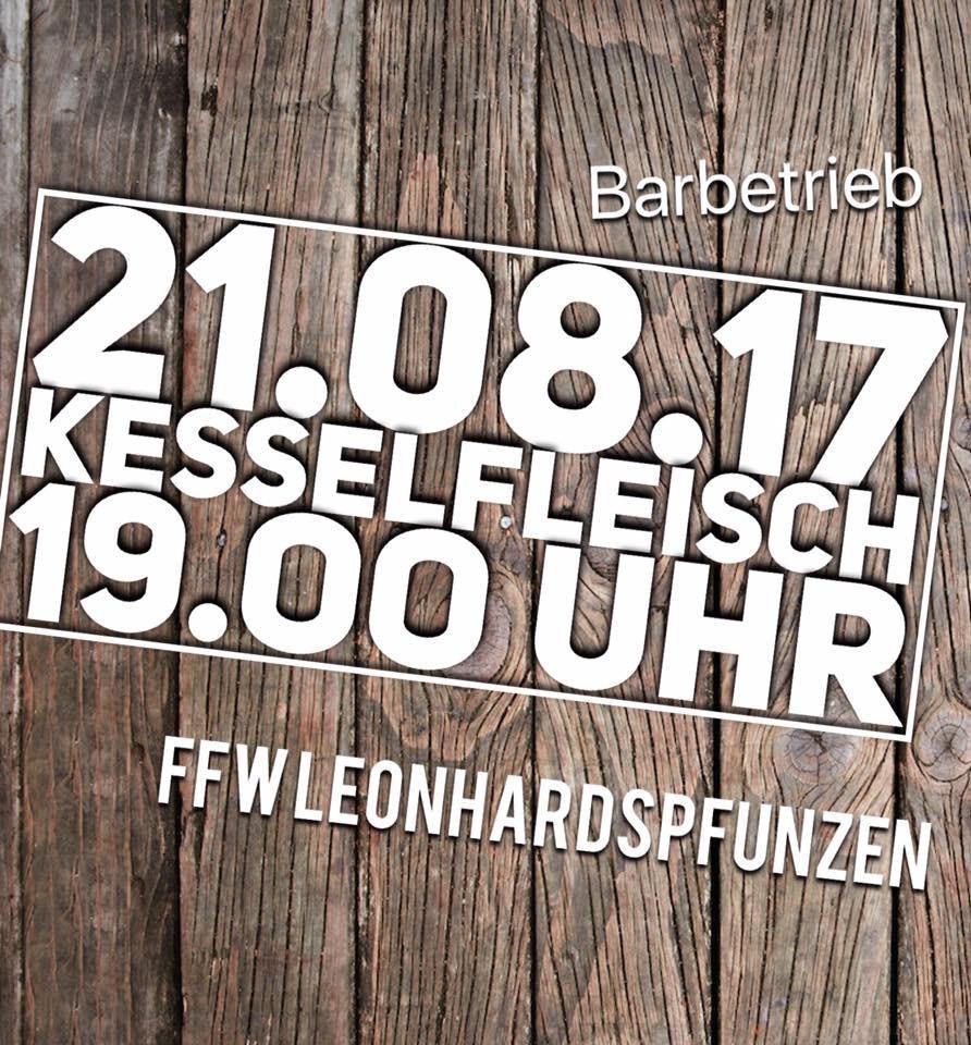 Kesselfleischessen FF Leonhardspfunzen @ FF Leonhardspfunzen