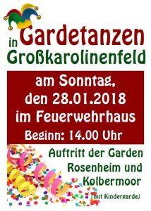 Gardetanzen @ FF Großkarolinenfeld