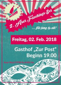 2.Auer Faschings-3er