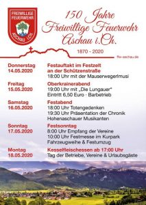 150 Jahre FF Aschau i.Ch.